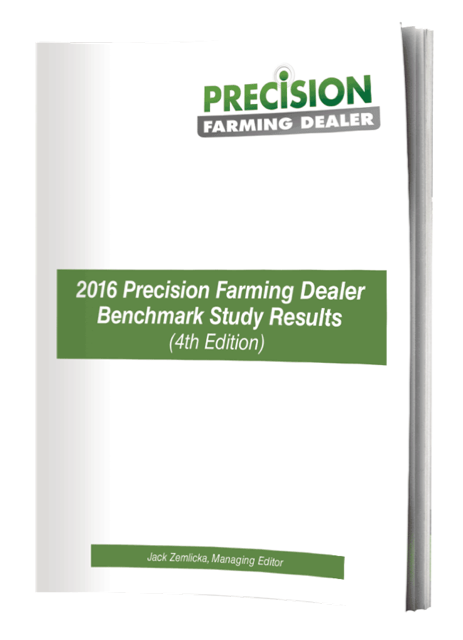 2016 Precision Farming Dealer Benchmark Study Results (4th Edition) Cover