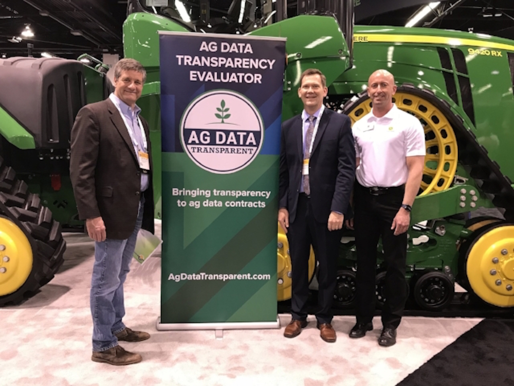 John Deere Ag Data Transparent