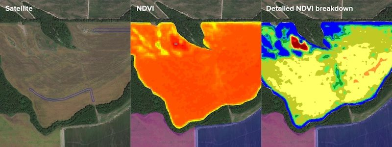 NDVI Satellite Imaging