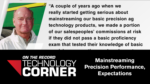 Mainstreaming Precision Performance, Expectations