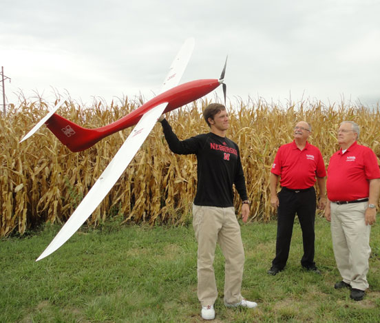 UNL Researchers and UAV