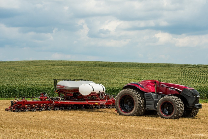 Case IH autonomous vehicle