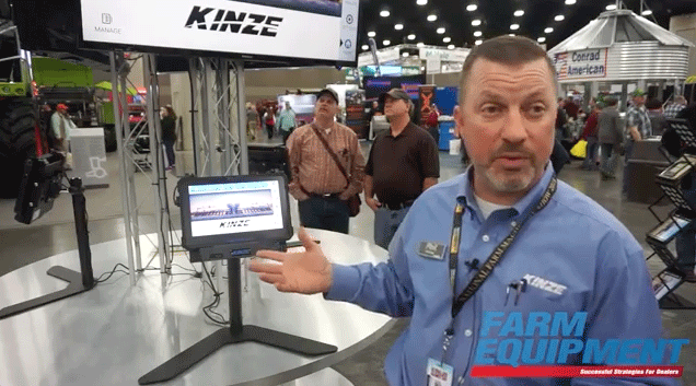 Kinze's Product Introductions at NFMS