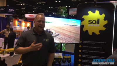 Soil Warrior Discusses Strip-Tilling and Nutrient Placement in the Spring