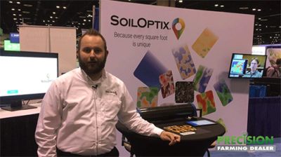 SoilOptix Soil Analysis System provides Ag Service Providers High Res Soil Nutrient Maps