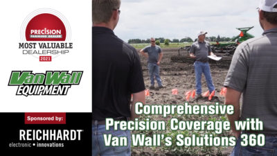 Comprehensive Precision Coverage with Van Wall's Solutions 360