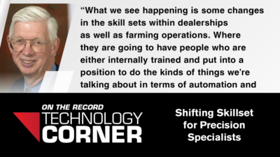 [Technology Corner] Shifting Skillset for Precision Specialists