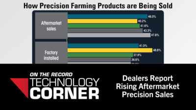 [Technology Corner] Dealers Report Rising Aftermarket Precision Sales